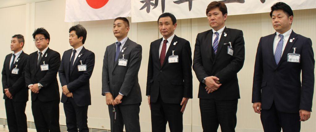日本福祉車輌協会 研修委員会メンバー7名